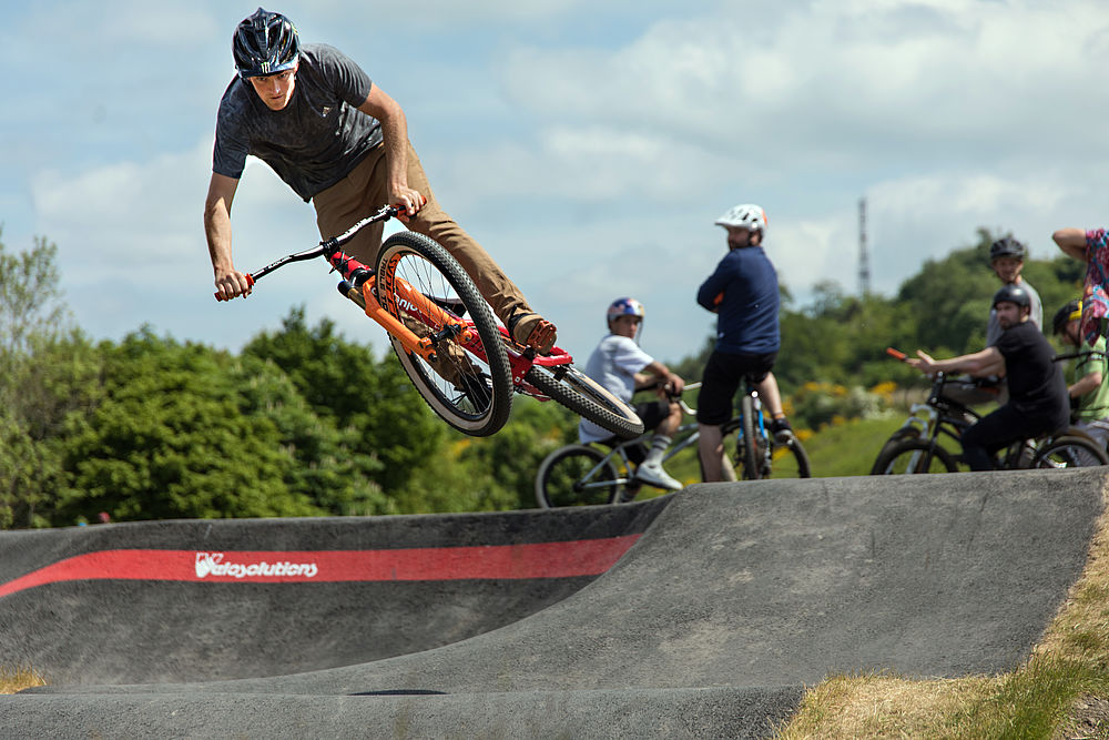 Wishaw Community Pump Track – Changing Lives