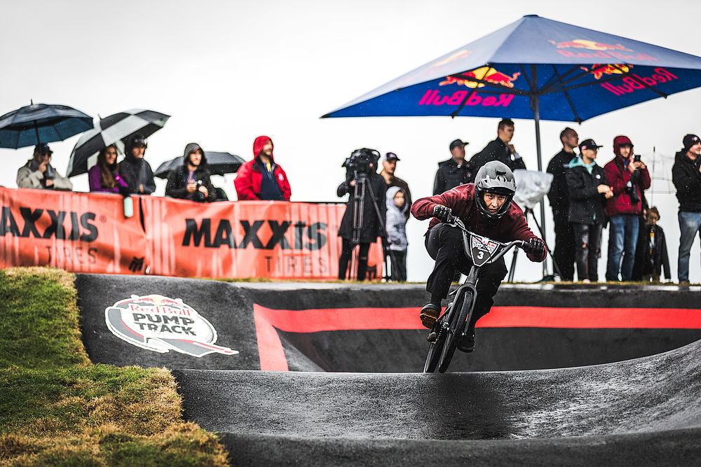 David Graf and Christa von Niederhäusern are crowned the First Ever Red Bull Pump Track World Champions