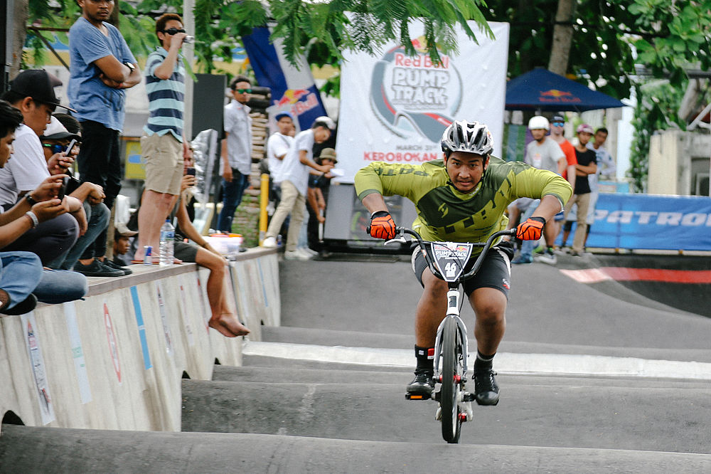 Bali hosts the first ever Red Bull Pump Track World Championship Qualifier
