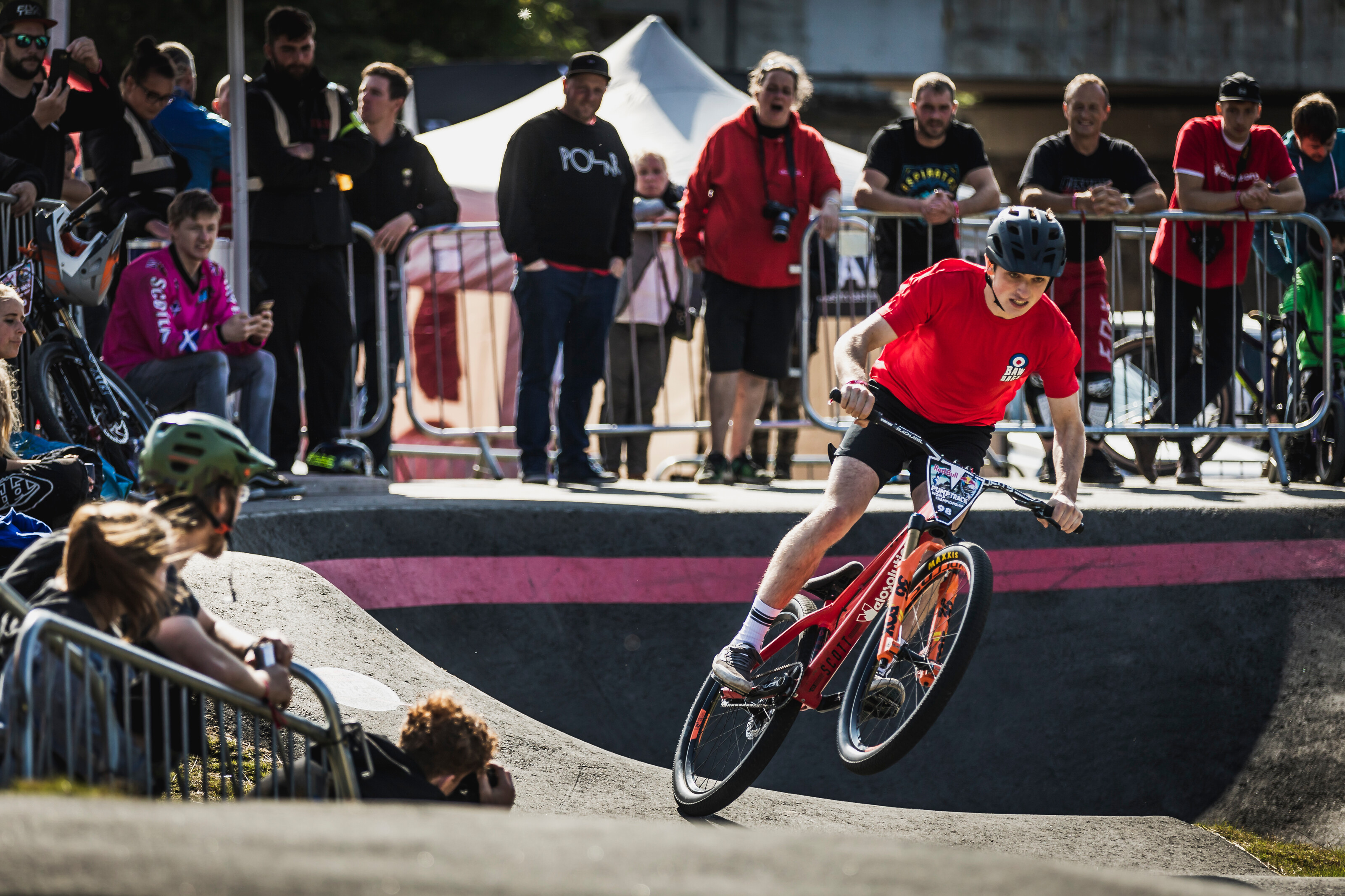 The UK smashes it as the Red Bull Pump Track World Championship touches down in Wishaw