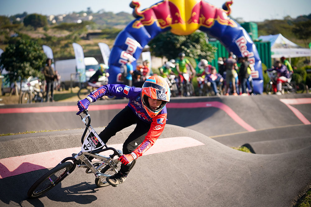 Durban kicks off the first National Series of the Red Bull Pump Track World Championship, Africa style