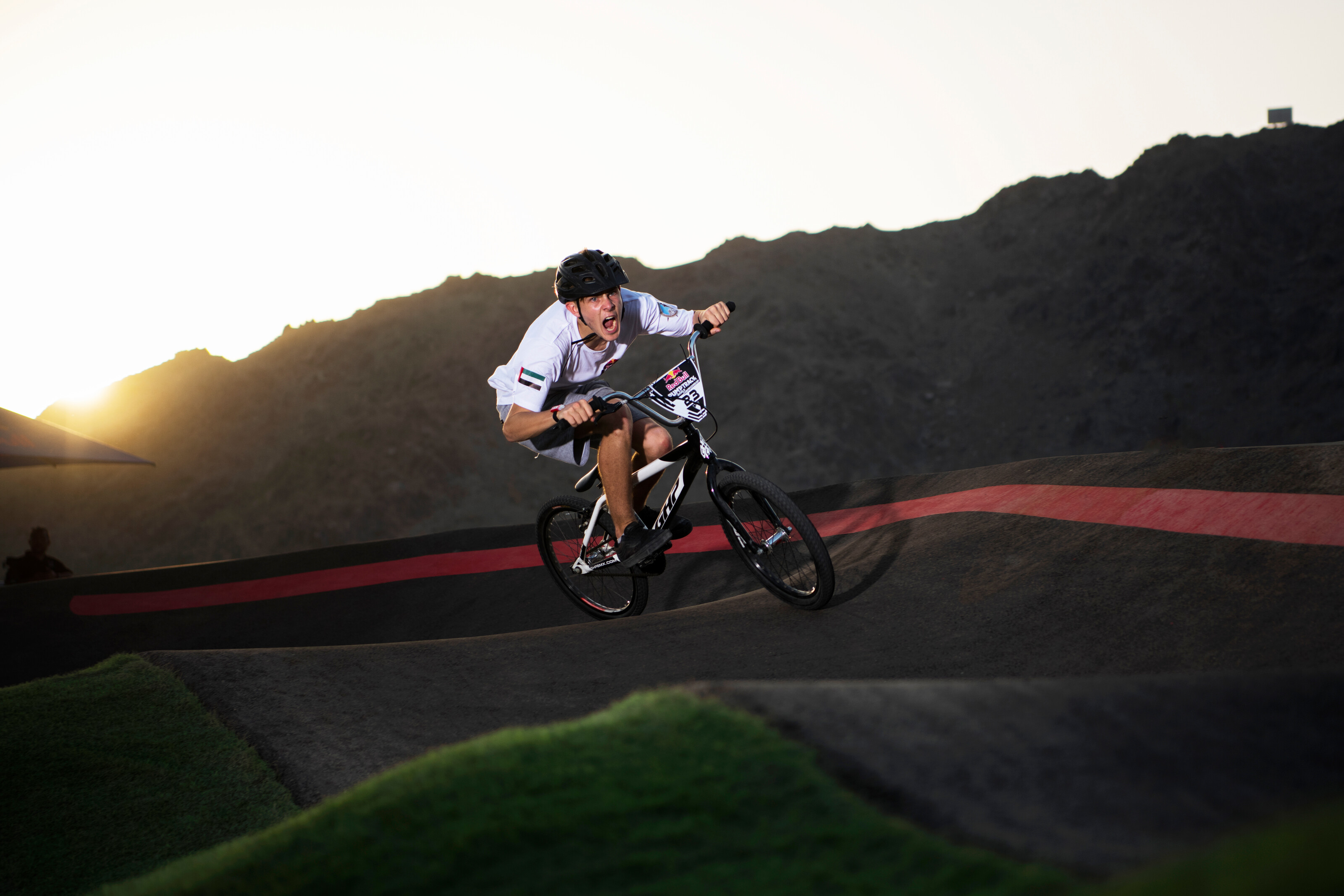 The first Red Bull Pump Track World Championship Qualifier in the UAE delivers on all levels.